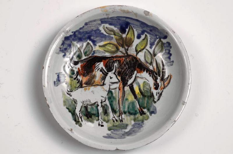 assiette : chèvre et chevreau