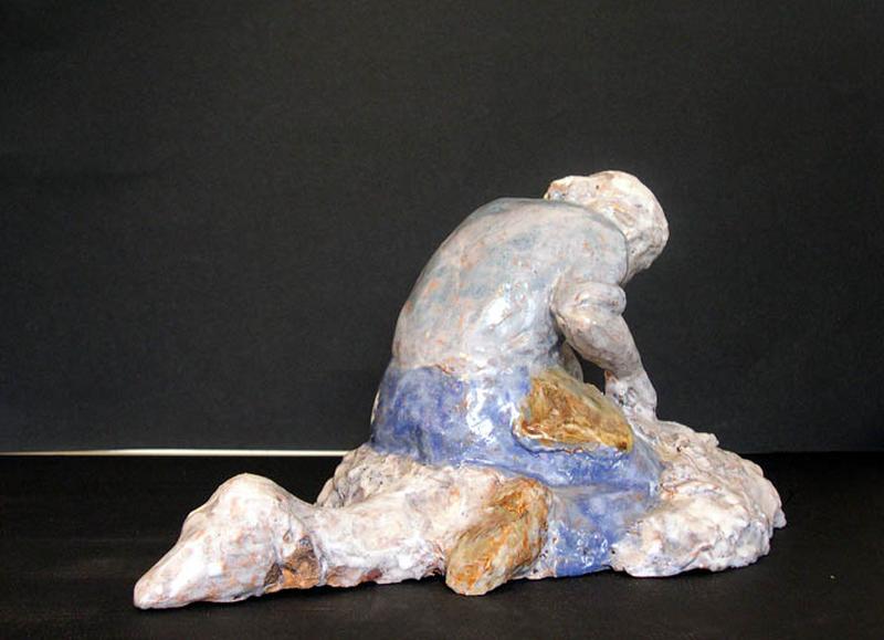 figurine : la tonte du mouton