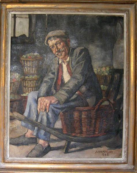 tableau : le père Alluard