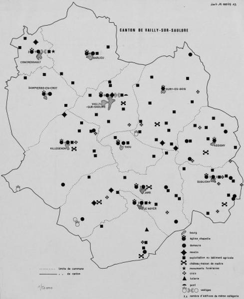 Présentation de l'étude du patrimoine du canton de Vailly-sur-Sauldre