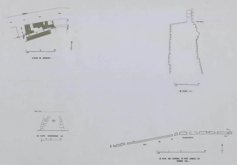 Fortification d'agglomération (n°1) dite Enceinte du Castrum