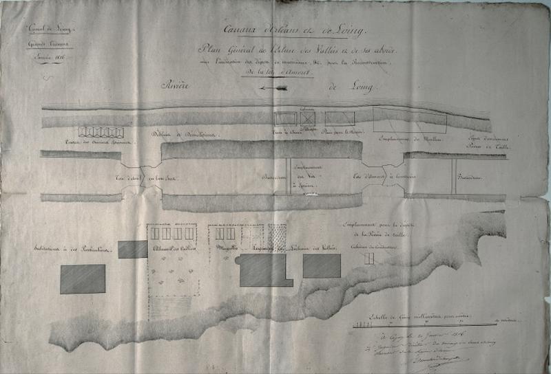 canal de navigation dit canal du Loing