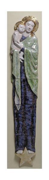 bas-relief : Notre-Dame du Bon-Secours