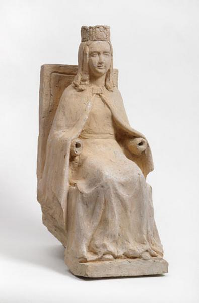 statuette : Vierge couronnée