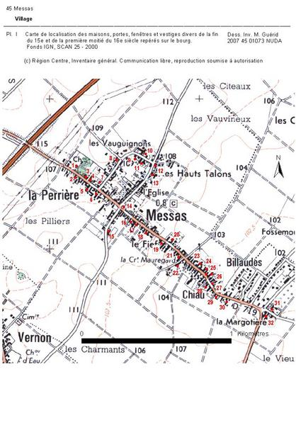 Présentation de la commune de Messas
