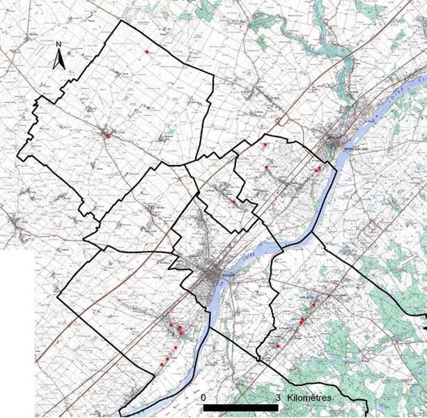 Présentation du canton de Beaugency