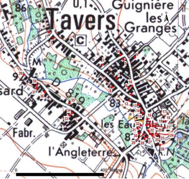 Présentation de la commune de Tavers