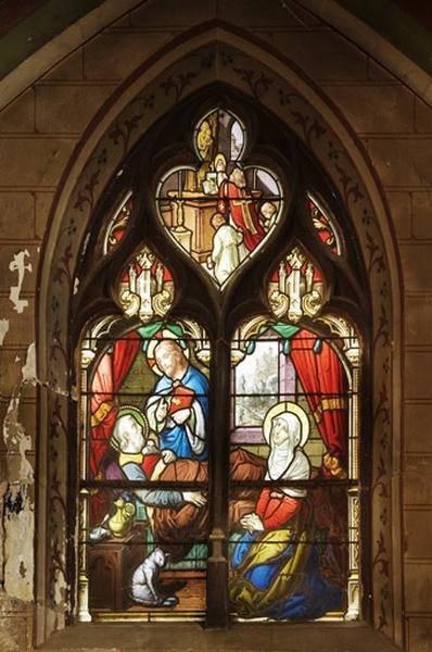 Verrière de la mort de Saint Joseph