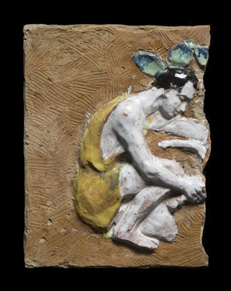 plaque décorative : la Brebis perdue
