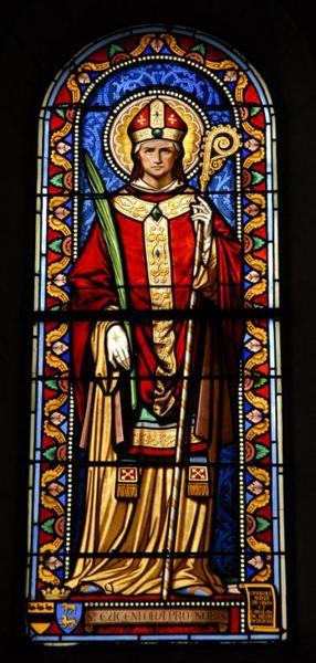 Verrière représentant saint Eugène