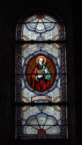 Verrière représentant saint Joachim