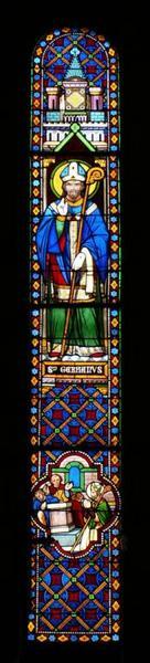 Verrière représentant saint Germain