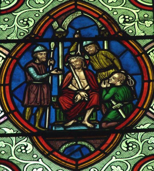 Verrière représentant la Passion du Christ