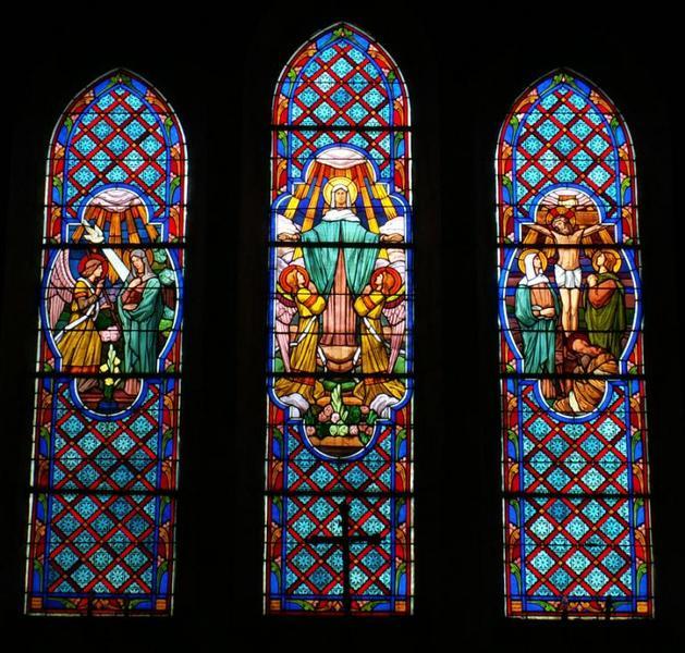 Verrières de l'église