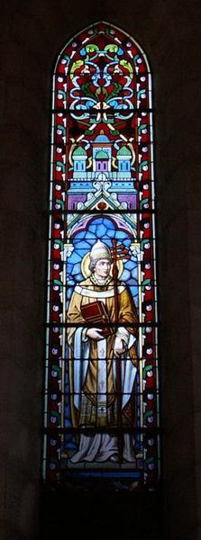 Verrière représentant saint Léon pape