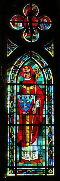 Verrière représentant saint Ursin