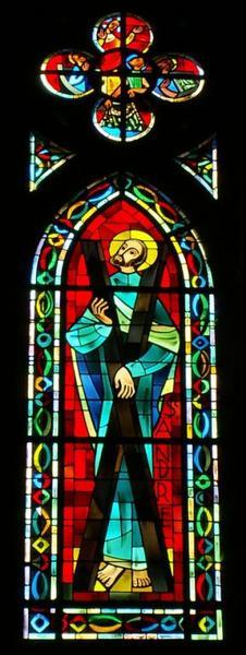 Verrière représentant saint André