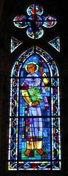 Verrière représentant saint Etienne