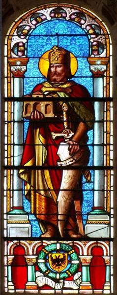 Verrière représentant saint Henri