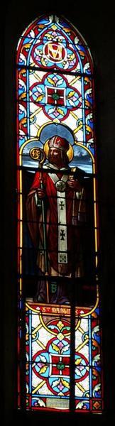 3 verrières figurant saint Martin, saint Jean-Baptiste et sainte Marie-Madeleine
