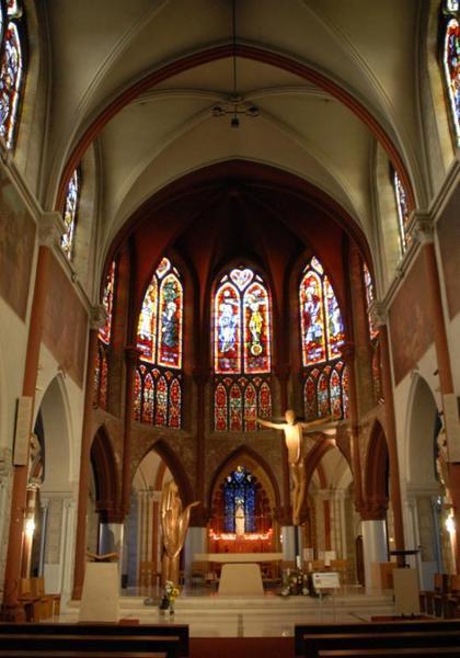 Verrières de la basilique