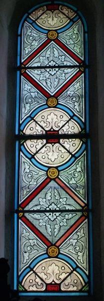 3 verrières de la chapelle nord