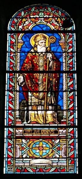 Verrière représentant saint Julien