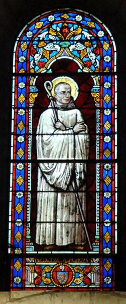 Verrière représentant saint Albéric