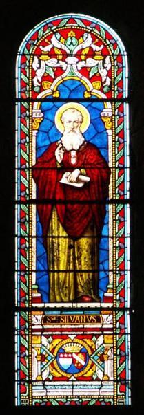 Verrière représentant saint Sylvain