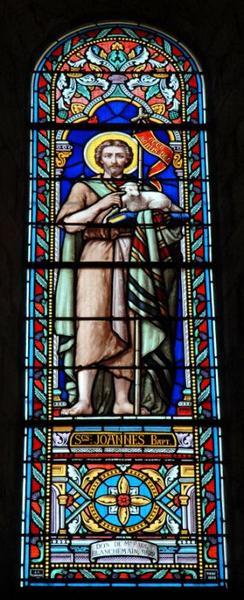 Verrière représentant saint Jean-Baptiste