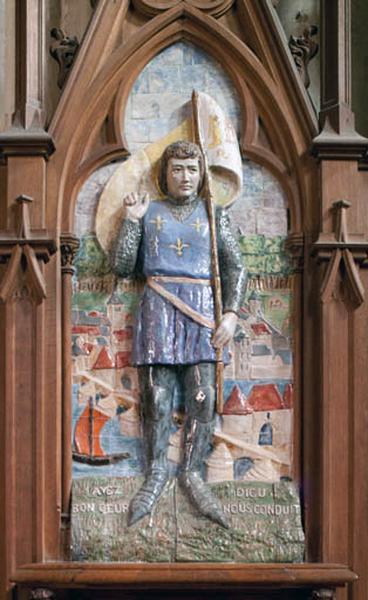 Relief : sainte Jeanne-d'Arc