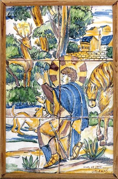 panneau : saint Hubert