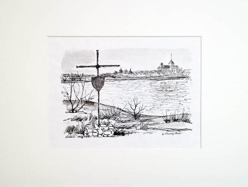 dessin : la croix Tibi