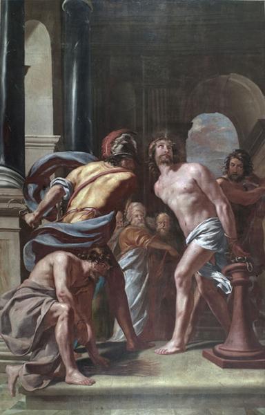 2 tableaux : La Flagellation, Le Portement de croix