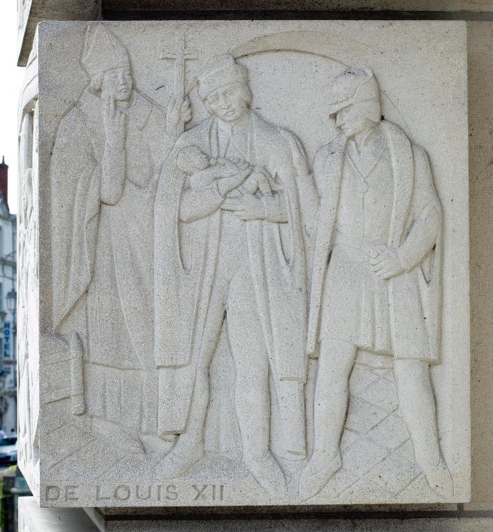 Ensemble de bas-reliefs
