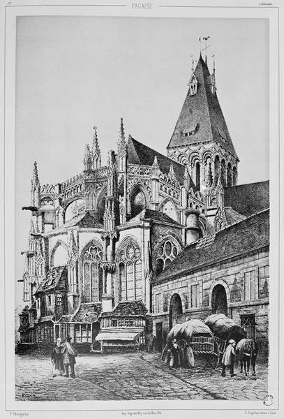 église paroissiale Saint-Jacques Saint-Christophe Saint-Gervais Saint-Protais ; halle