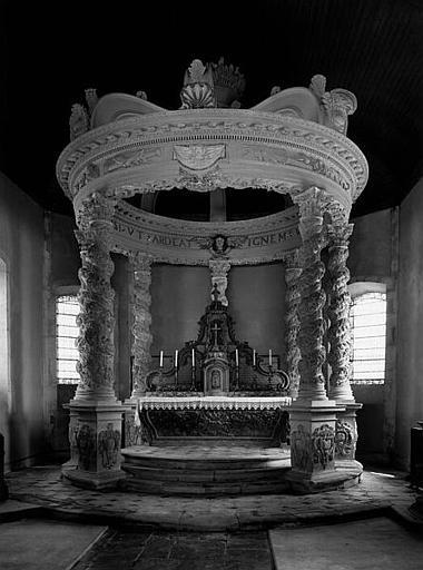 Ciborium (baldaquin d'autel)