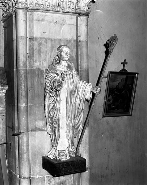 statue : Saint Marcouf