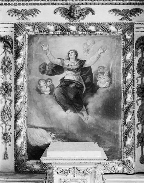Tableau (tableau d'autel) : l'Assomption
