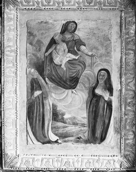Peinture murale : la Donation du Rosaire