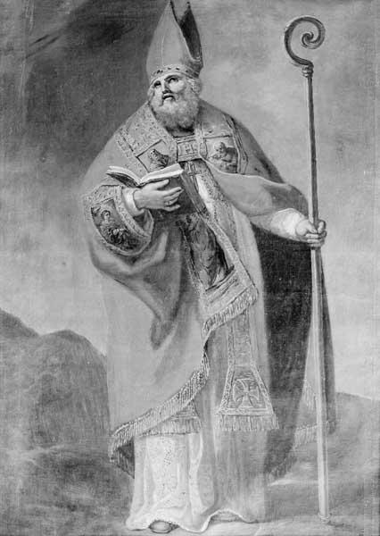 Tableau (tableau d'autel) : saint Martin évêque