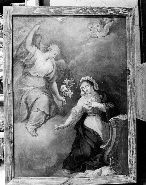 Tableau (tableau d'autel) : l'Annonciation