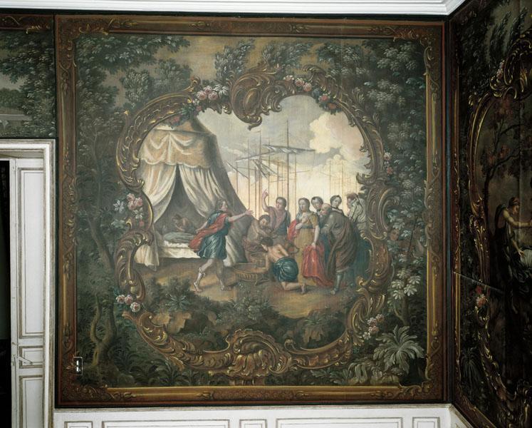 Peinture : Briséis est rendue à Achille après la mort de Patrocle