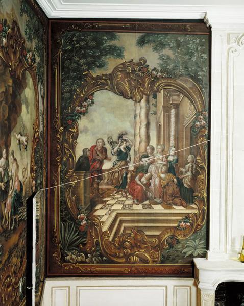 Peinture : Ulysse démasque Achille parmi les filles de Skyros