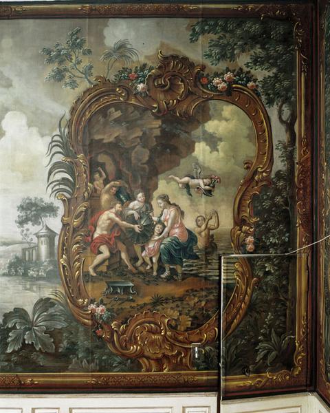 Peinture : Vulcain forge les armes d'Achille