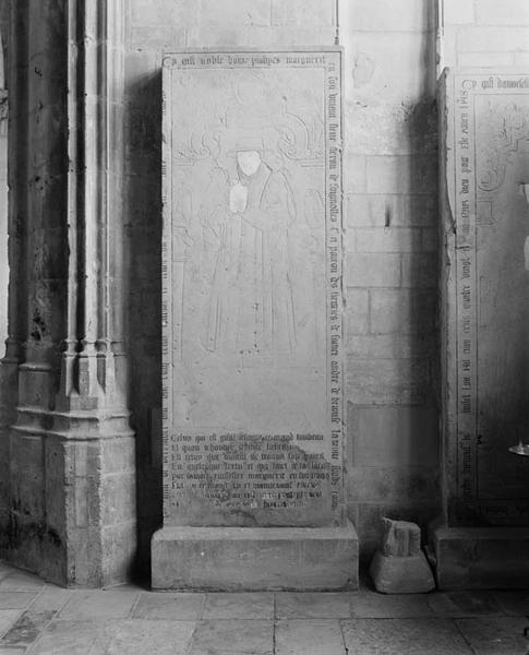 Dalle funéraire de Philipes Marguerit