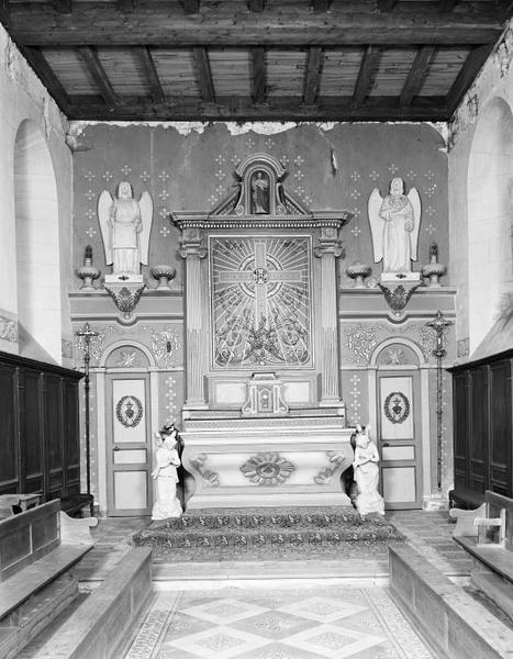 Ensemble du maître-autel (tabernacle, retable)