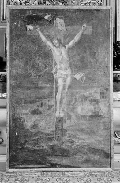 Tableau (tableau d'autel) : Christ en croix