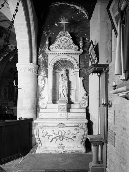 Ensemble des autels secondaires (autels, retables)