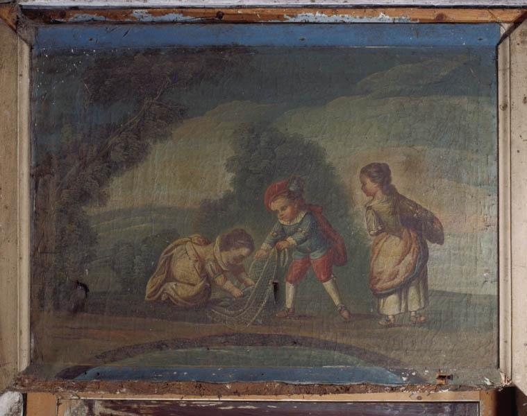 2 tableaux : la Pêche, la Chasse